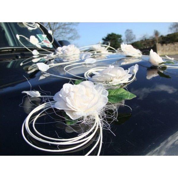 1000 images about dco pour voiture on pinterest - Decoration Voiture Mariage Ventouse