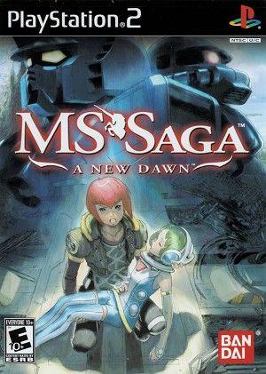 Ms Saga A New Dawn Sony Playstation 2 Game Playstation Saga