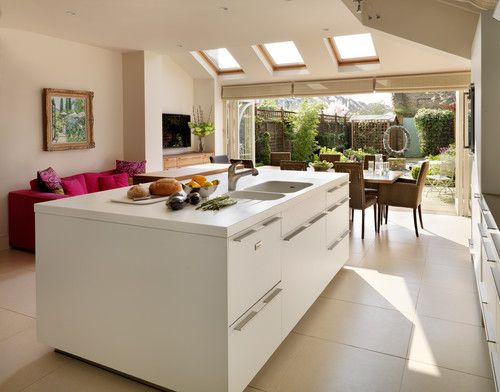 London Town House - contemporary - kitchen - london - hobsons|choice