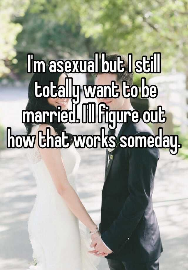 Squishes asexual marriage