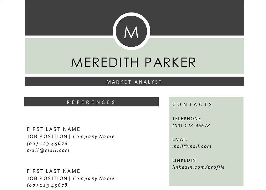 Elegant 3 in 1 Word resume 2 pages #resume#Word#Elegant#Templates - resume 1 or 2 pages
