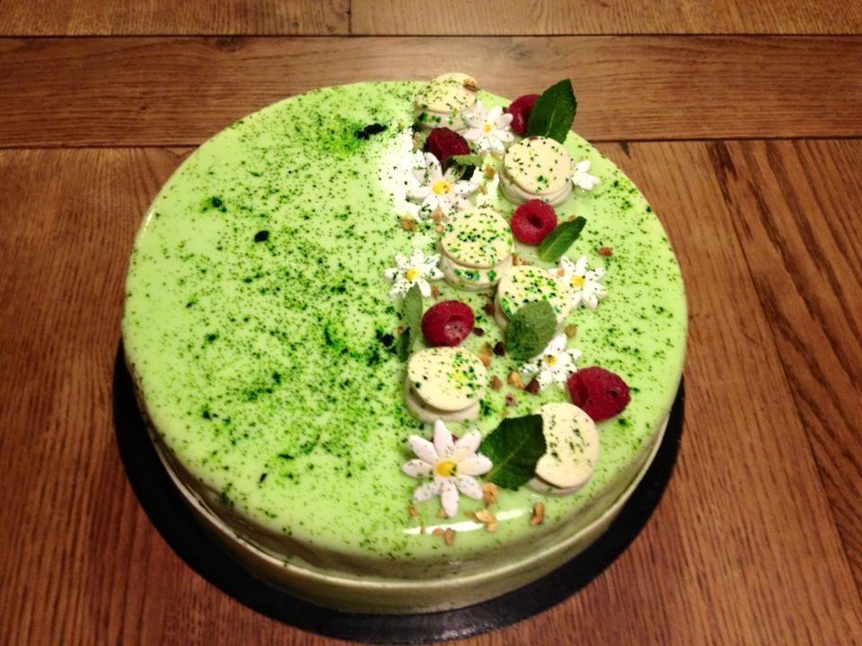 Cake citron vert amande