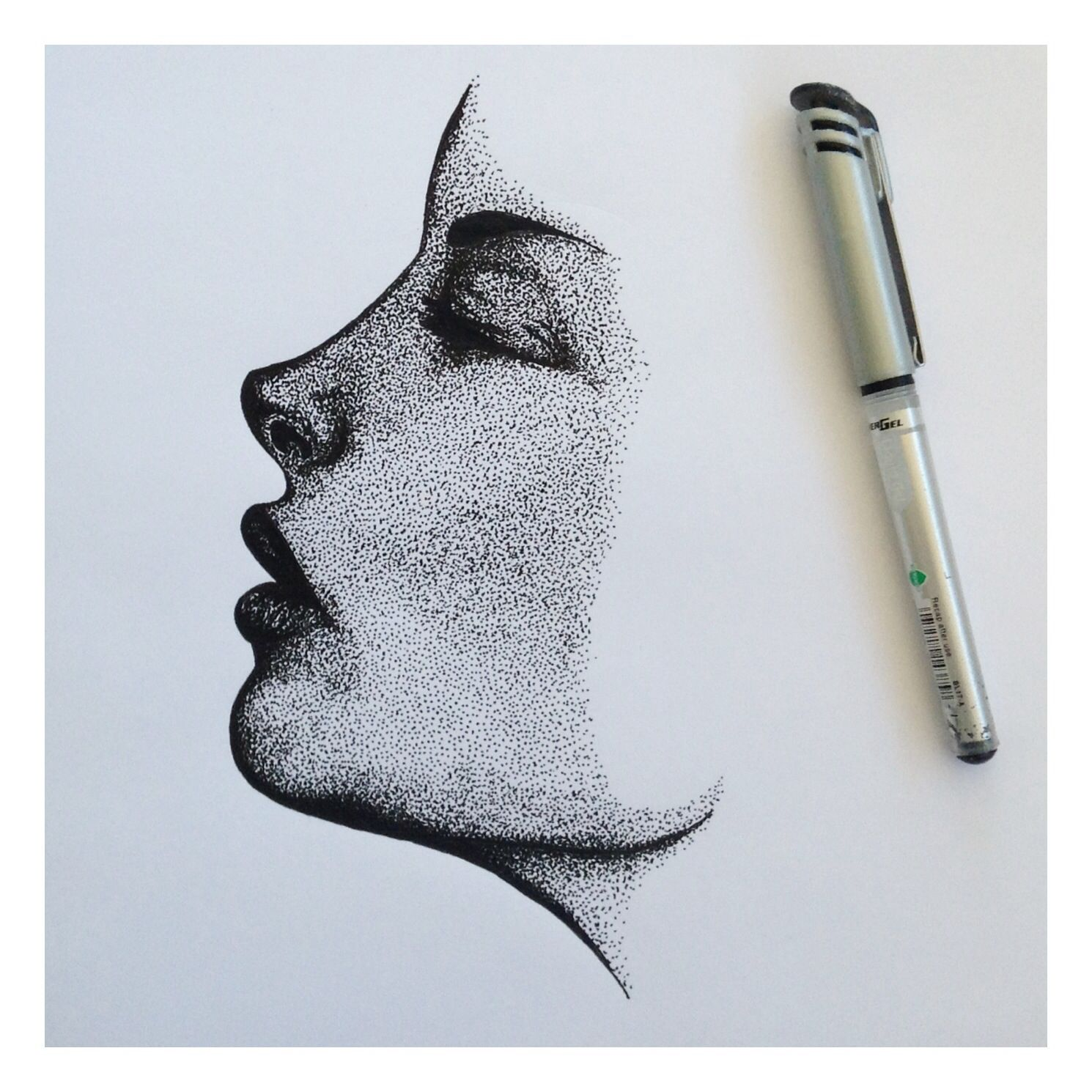 Concepcion Allamand Dots Drawing Copied Dots Drawing