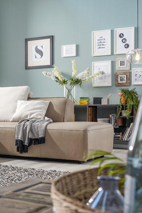 So gemütlich wird der Fernsehabend mit Natura Denver! Mehr Infos - wohnzimmer couch gemutlich