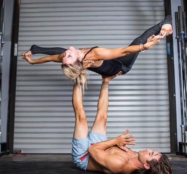 Ashley Galvin And Dylan Werner Acroyoga Werner