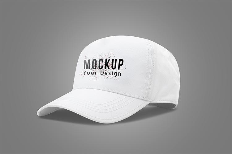 تحميل موك اب كاب ابيض Psd مجانا White Baseball Cap Baseball Cap Mockup