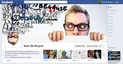 30 Cool And Creative Examples of Facebook Timeline Designs - timeline examples
