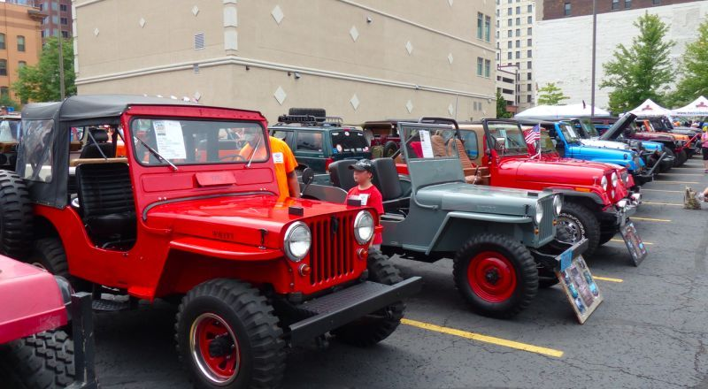 Bask in the explosion of jeepness at the toledo jeep