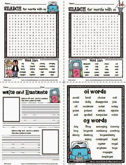 Pin On Phonics Oy oi worksheets