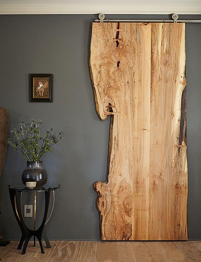Beau Hanging Wood Element In A Room