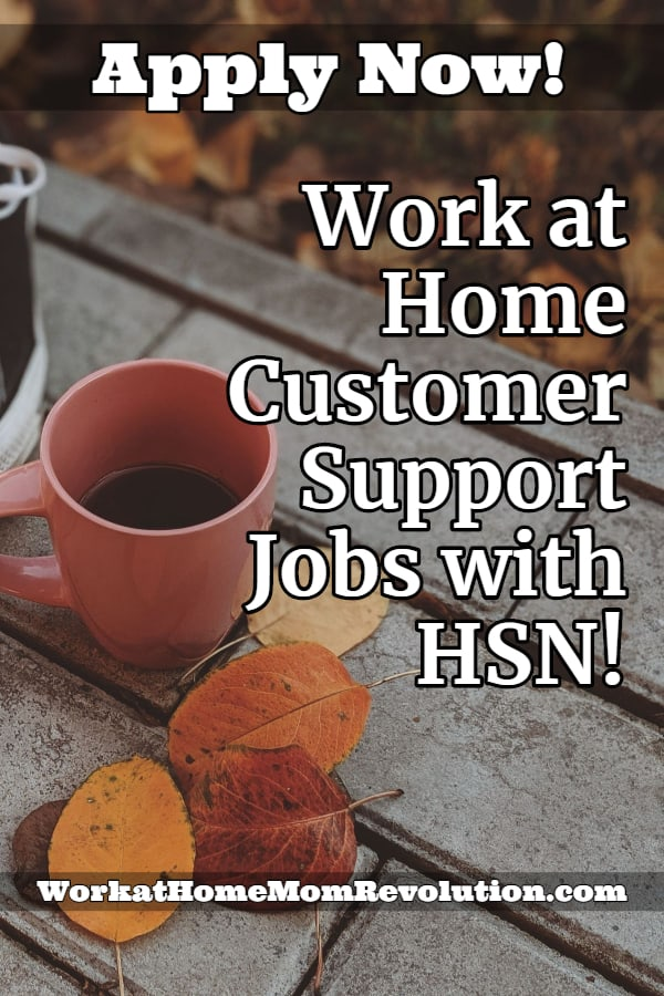 Work At Home Sales And Service Rep Jobs With Hsn Working From Home Customer Service Jobs Legit Work From Home