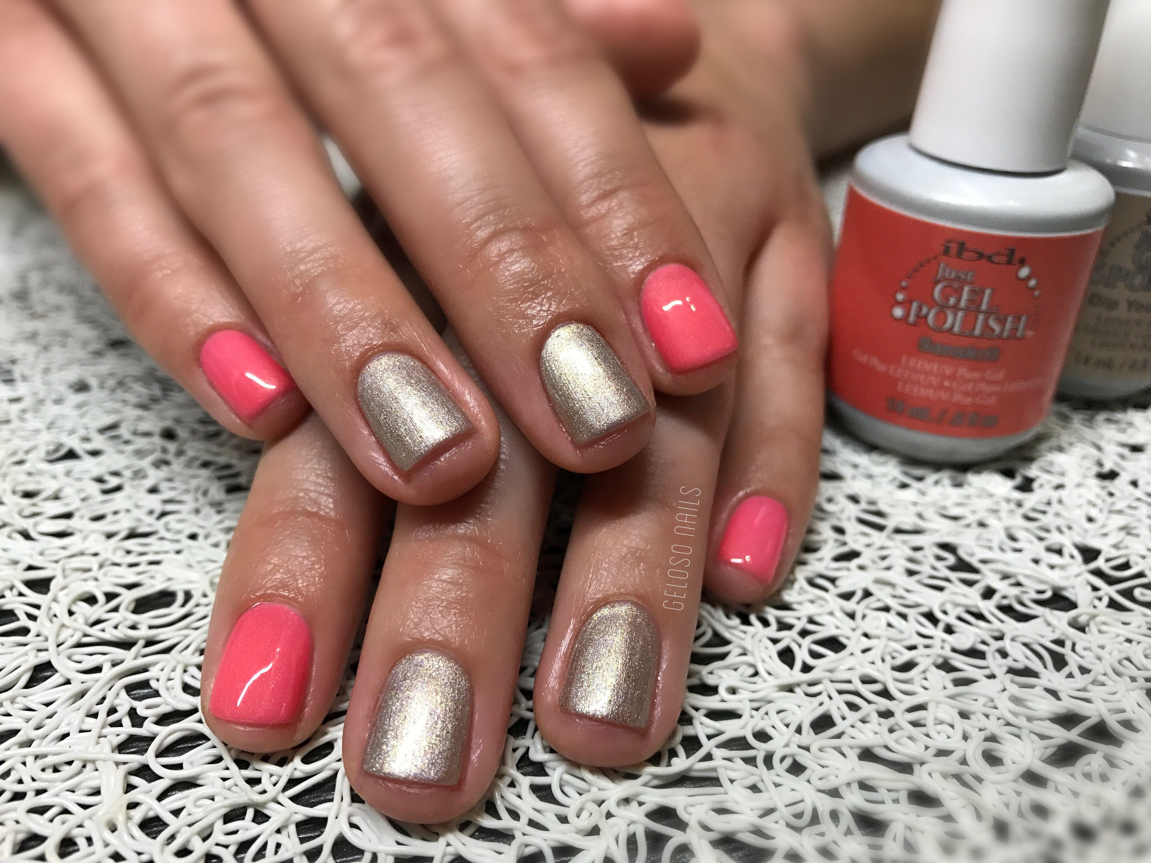 Ibd just gel polish Sanskrit & dip your toes | Geloso Nails ...