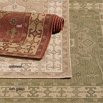 The Indoor Outdoor Kilim Rug By Orvis Deck Rug Rugs Area Rugs