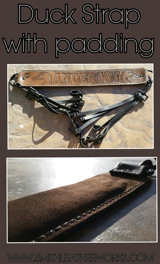 Custom Leather Duck Strap Miscellaneous Leather Projects