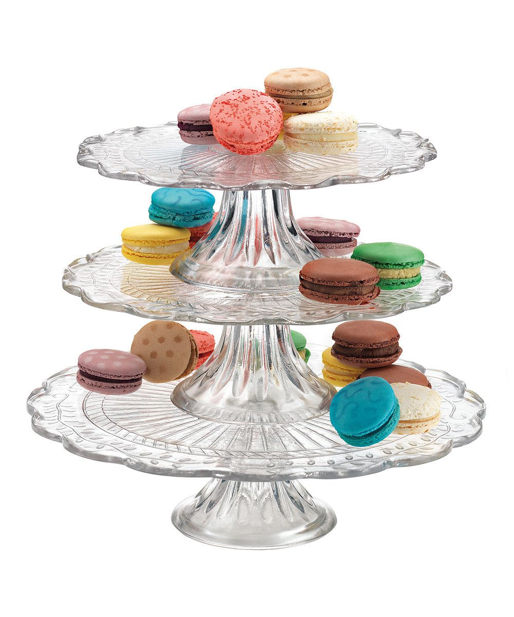 Bakers Choice Olympia Three-Tier Cake Stand