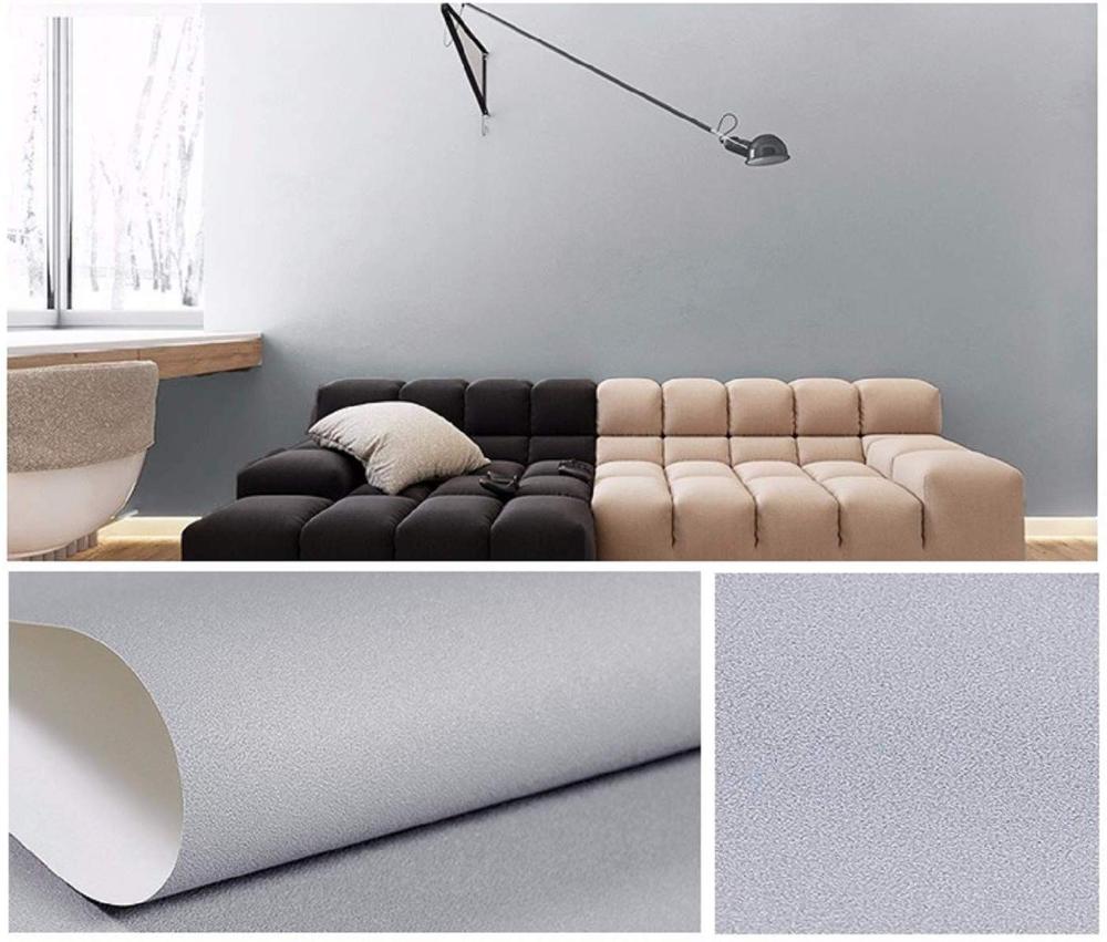 practicalWs SelfAdhesive Grey Wallpaper