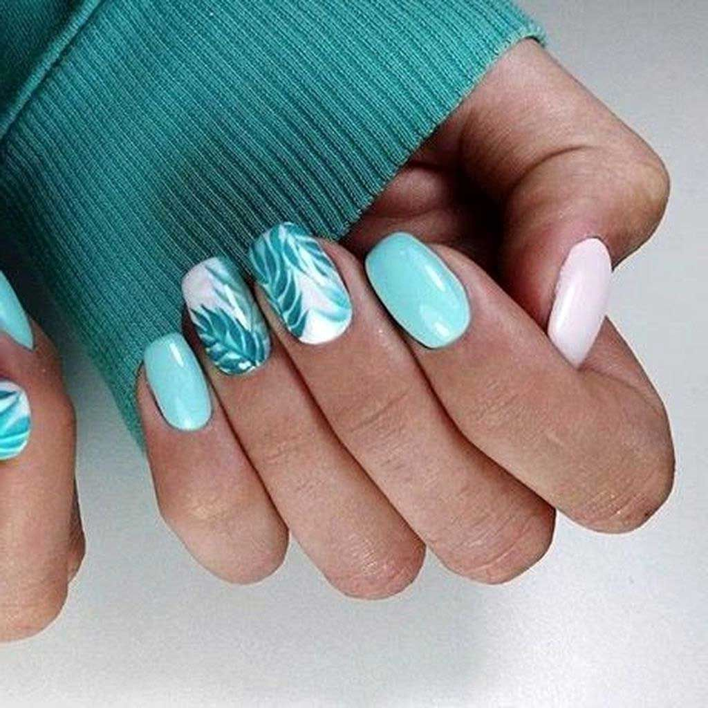 42 Popular Nail Art Designs Ideas For Summer 202015 Best Home Design Ideas In 2020 Bright Nail Art Nail Colors For Pale Skin Nail Colors