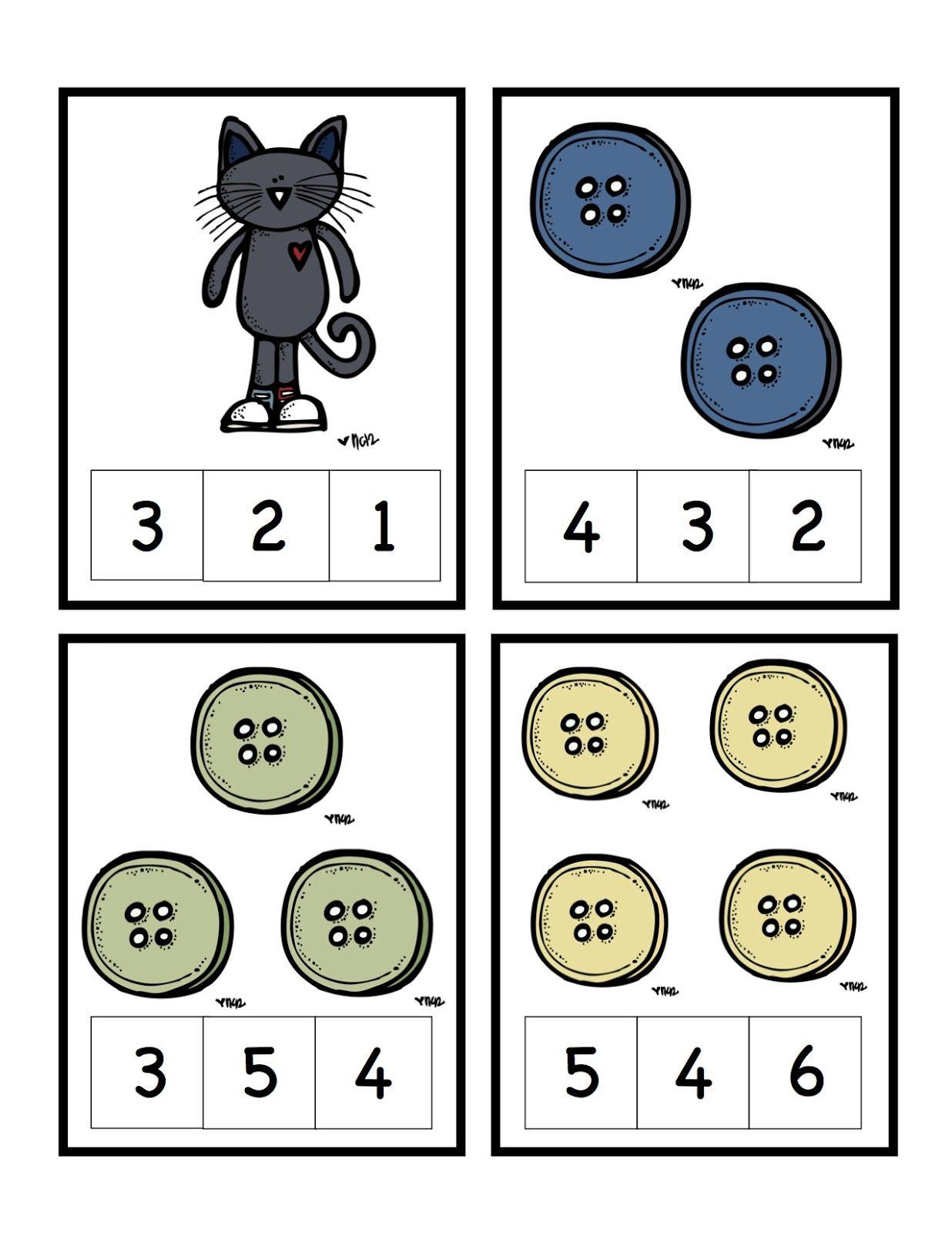 Preschool Printables Pete The Cat