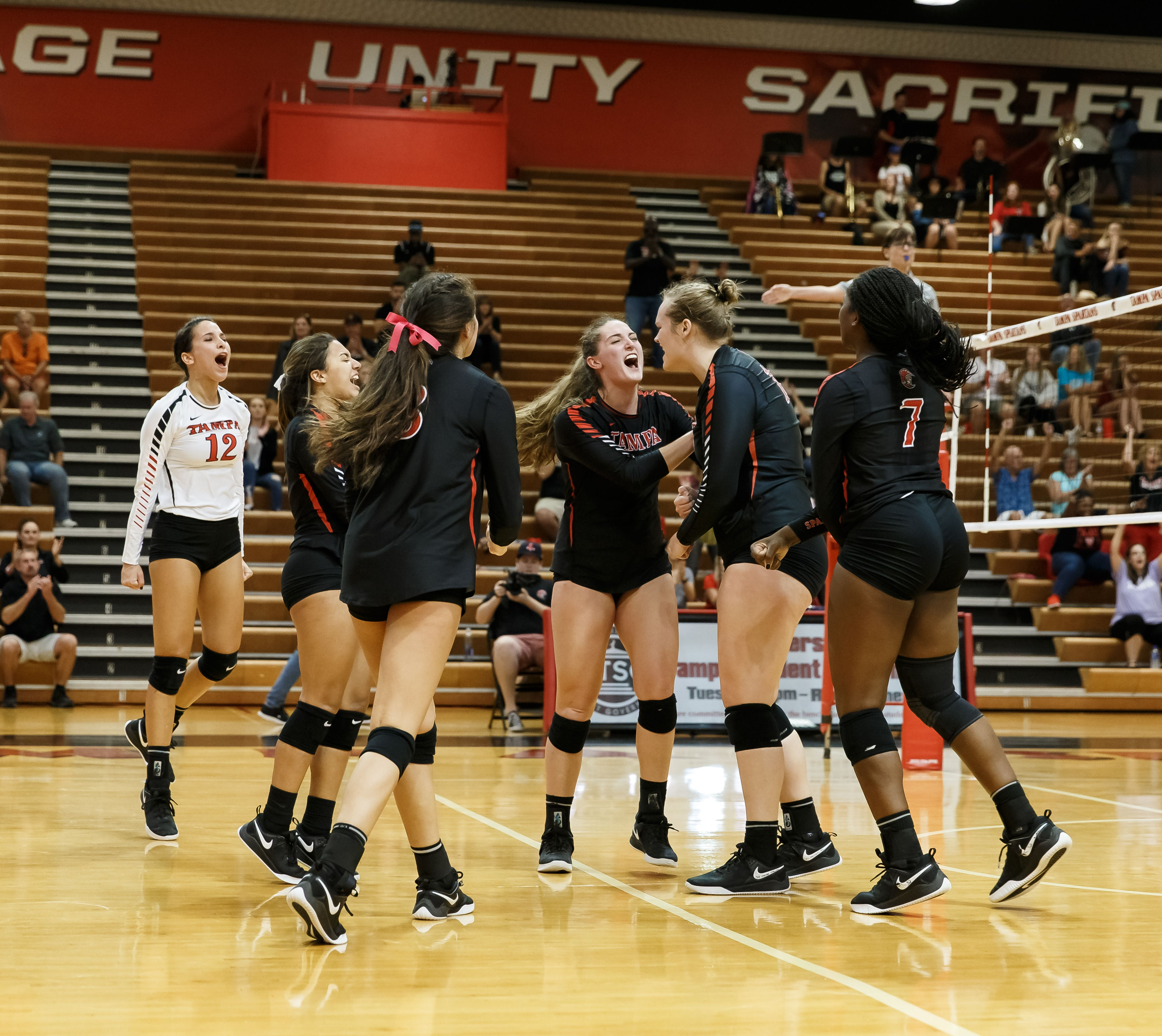 University Of Tampa Spartans Division Ii Athletics Women S Volleyball Women Volleyball Athlete Volleyball