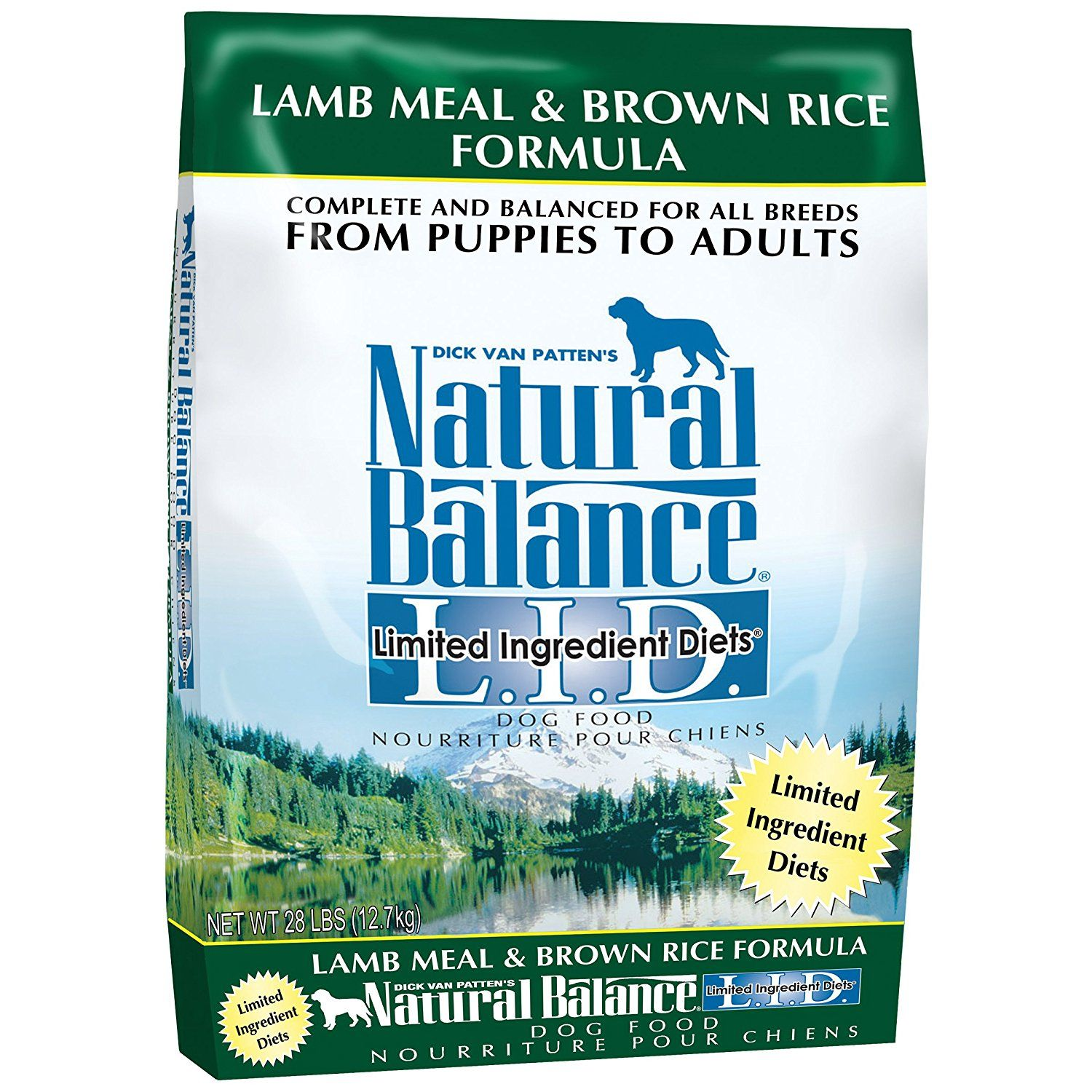 Natural Balance L.I.D. Limited Ingredient Diets Lamb Meal and Brown Rice Formula Dry Dog Food ** Review more details here