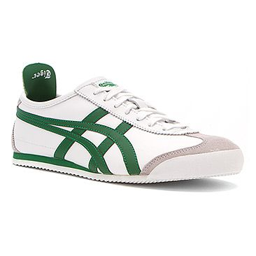 sports shoes b151c bb370 Asics Onitsuka Tiger Mexico 66® White/Emerald Green ...