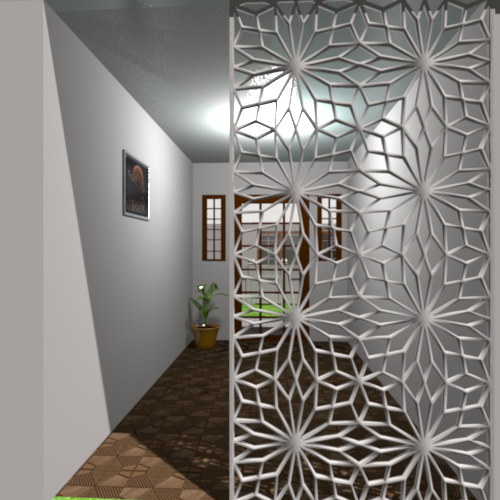 Ornamental Panel Jali Screen Partition Designs Can Be