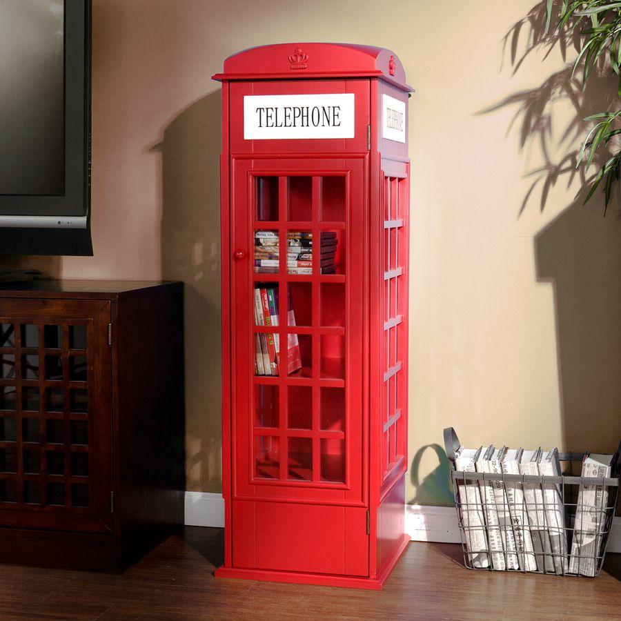 Shop Boston Loft Furnishings Red 44 5 In 5 Shelf Bookcase At Lowes Com Diseno De Espacios Oficinas De Diseno Casas