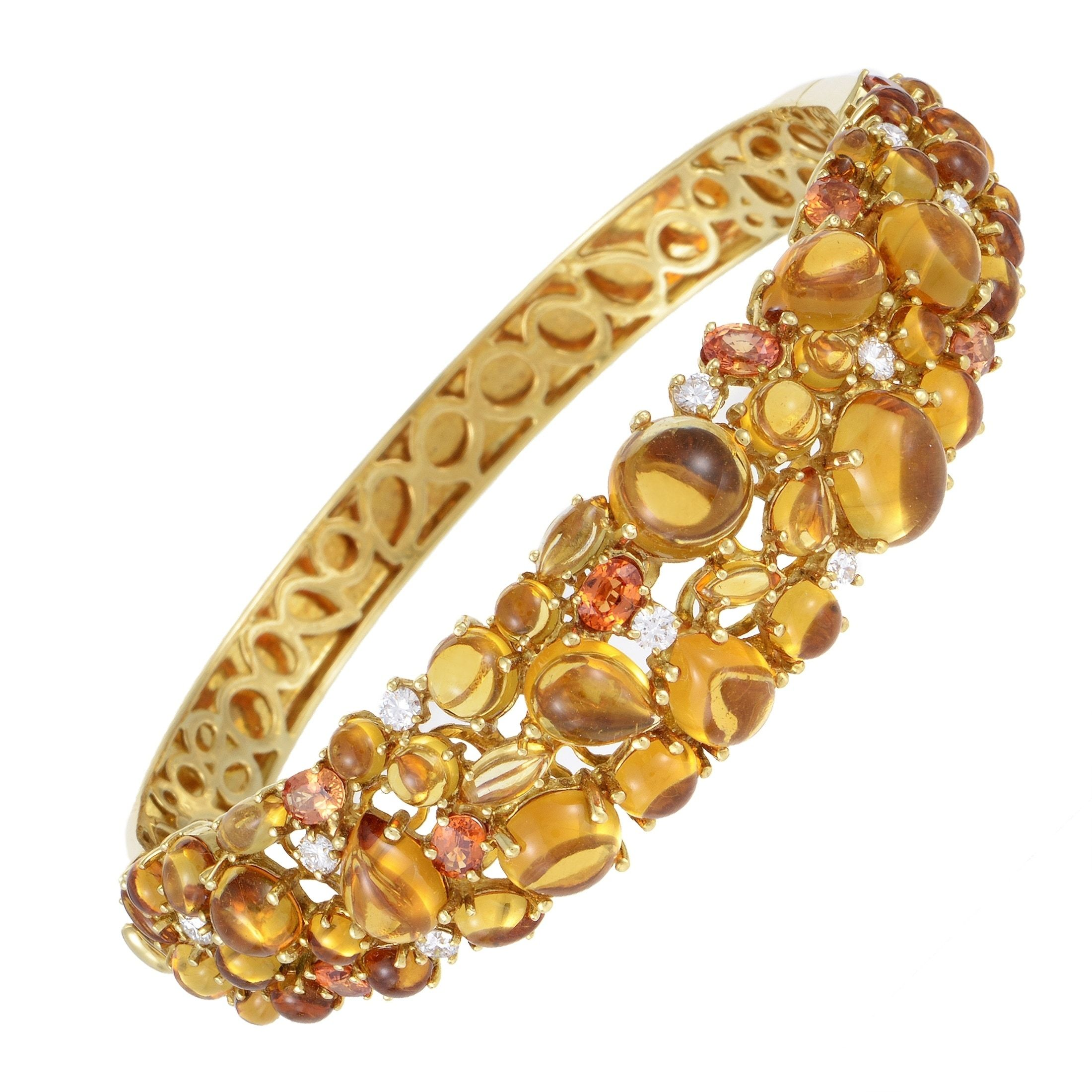 brands gold bangle tourmaline silver bangles karat bracelet pin david yellow yurman designer