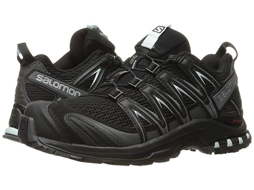 Salomon XA PRO 3D W BLACKBLACKWhite Trail Running ShoesBlack