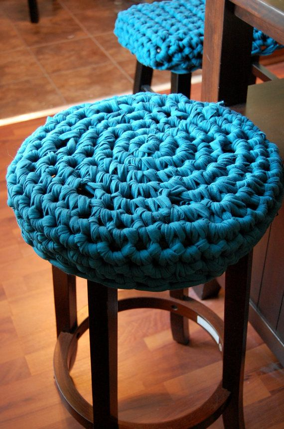 Stool Covers Bar Cushion Round Cover Vanity Custom Made 42 Color Options By Hobbyfelt On Etsy