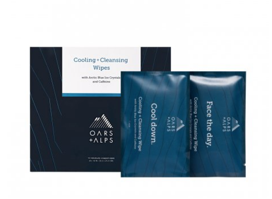 Summer Picks Oars Alps Cooling Face Body Wipes New I M