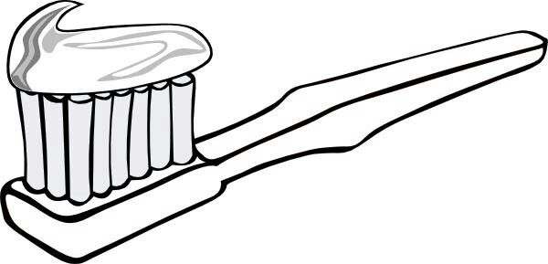 Coloring Page Brushing Teeth Uses For Toothpaste Toothpaste