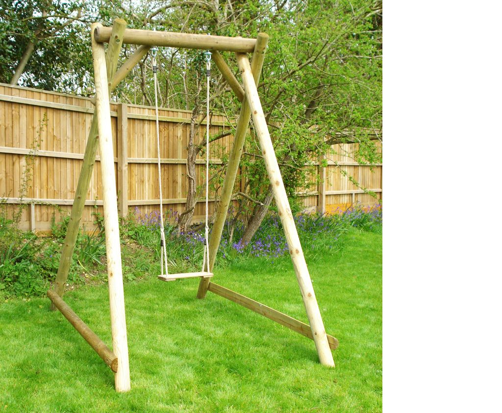 Wooden Swings For The Garden Are Made To Last In 2020 With