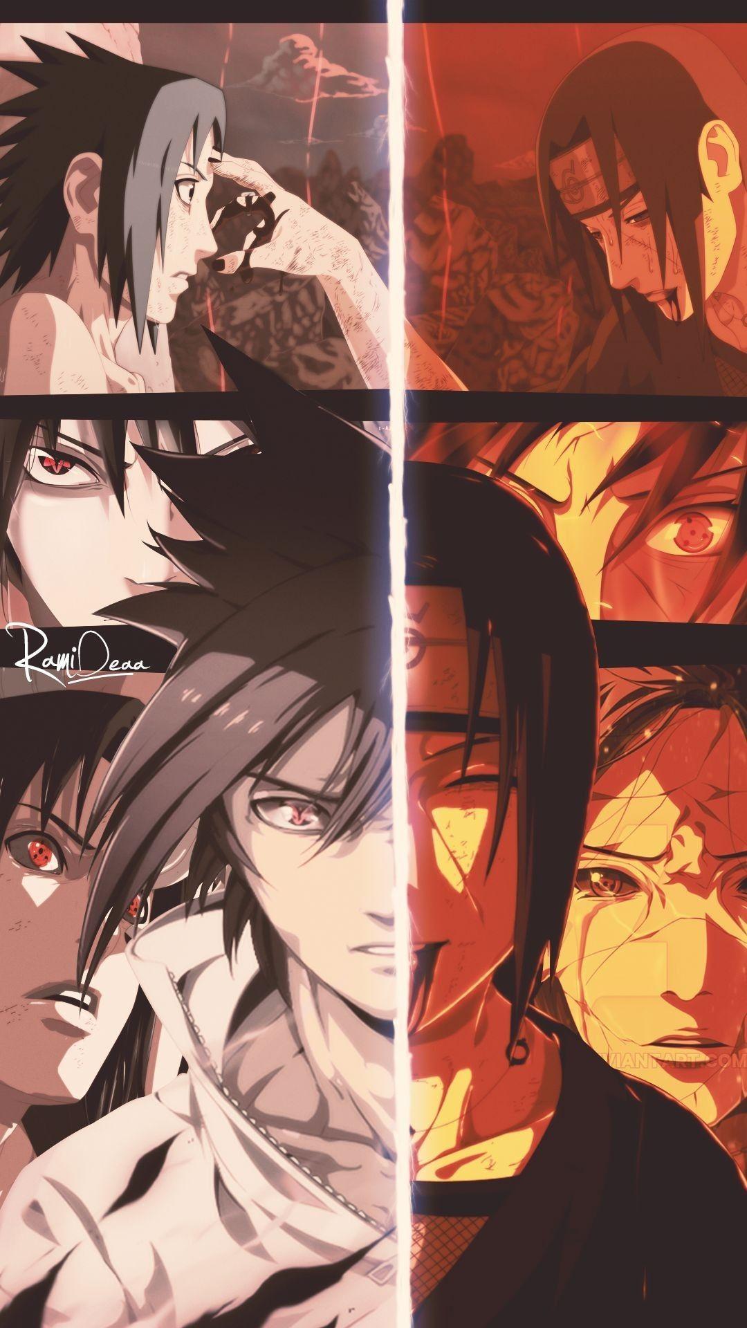 Pin di Halil su naruto Sasuke, Personaggi anime, Sfondi