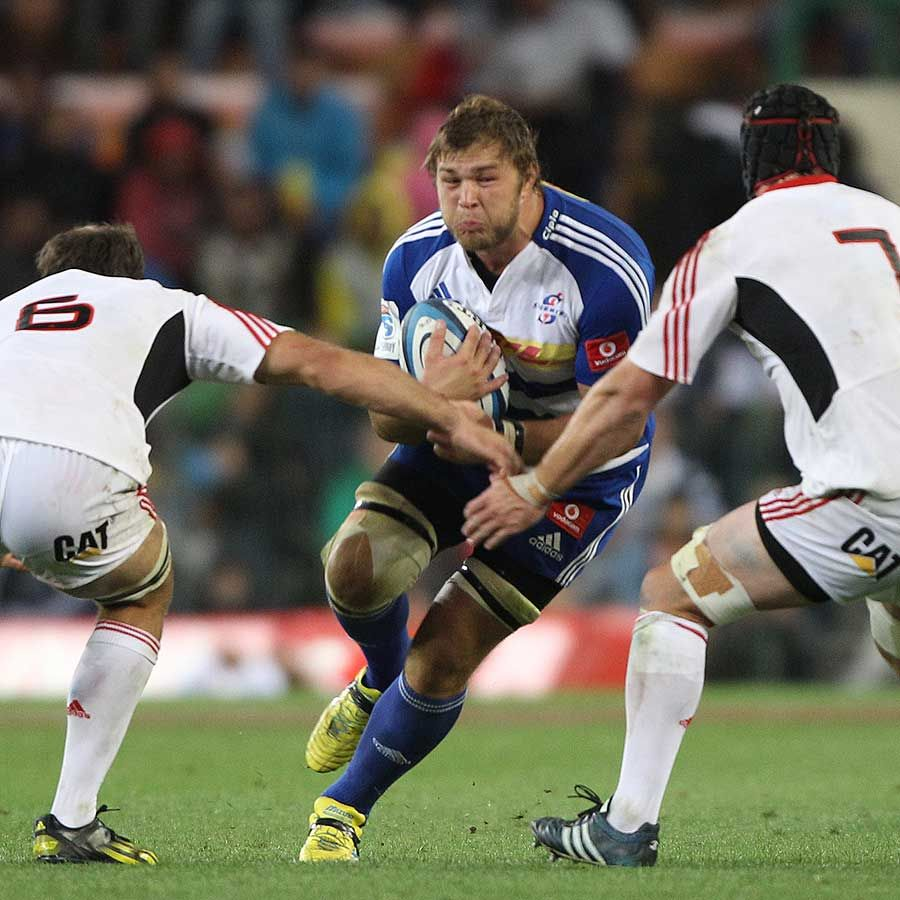 The Stormers Duane Vermeulen Braces For A Tackle