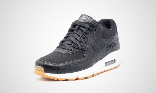 007d3720236c Nike Wmns Air Max 90 Premium Leather (schwarz)   Schuhe   Pinterest ...