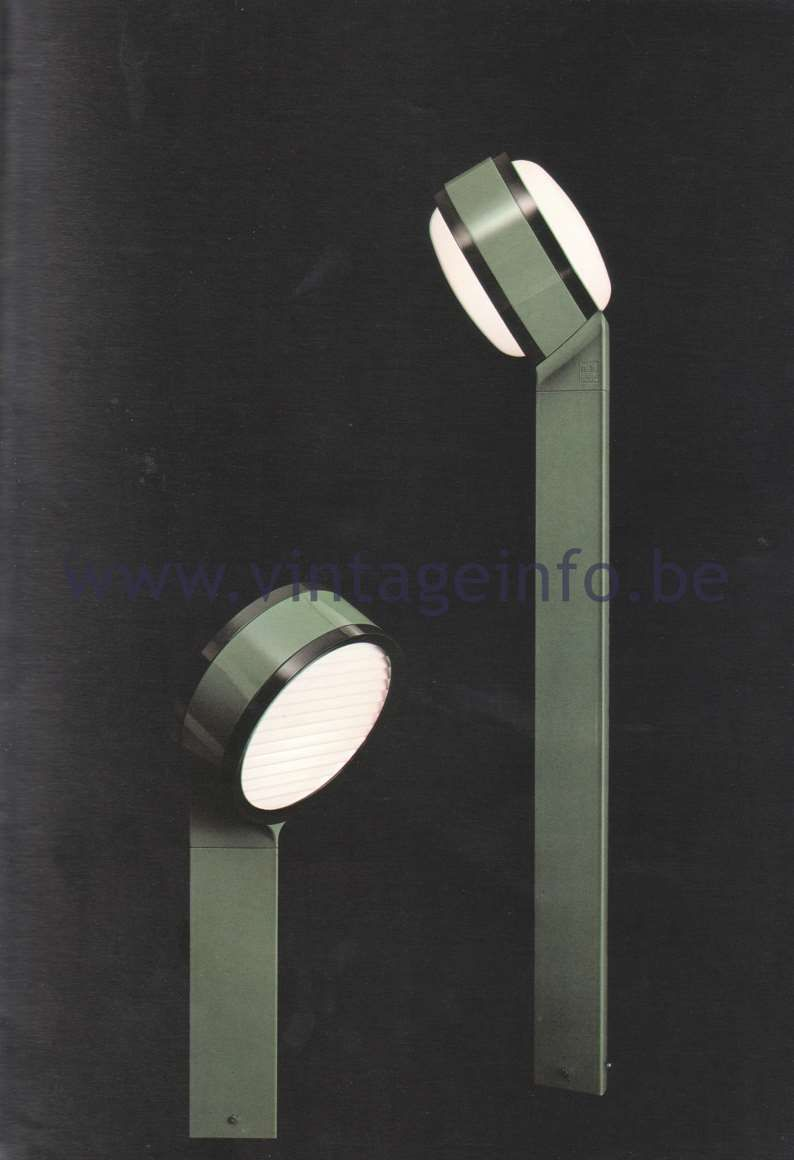 Lampada Nuvola Flos Flos Catalogue 1980 Tamburo Design Tobia Scarpa Lights