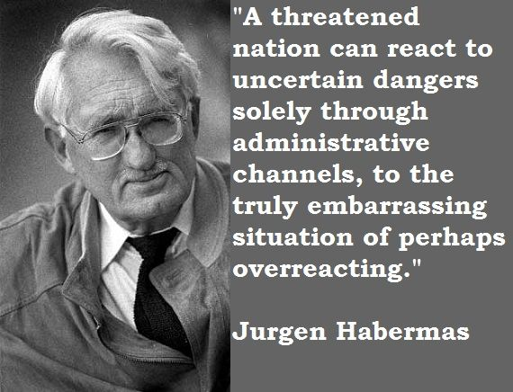 Jurgen Habermas Quotes With Pictures Quotes, Picture