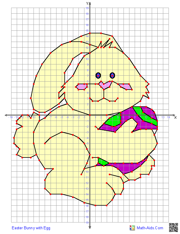Coordinate Pictures Cartoon Characters on Hello Kitty Coordinate Plane Math Worksheets