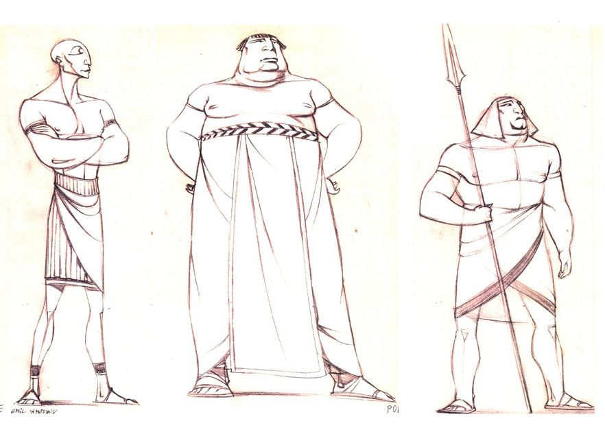 """Character Design Dreamworks : """"the prince of egypt dreamworks animation"""