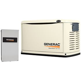 Generac Guardian 6462 A 16kw Standby Generator System 200a Service Disconnect Ac Shedding Standby Generators Transfer Switch Generation