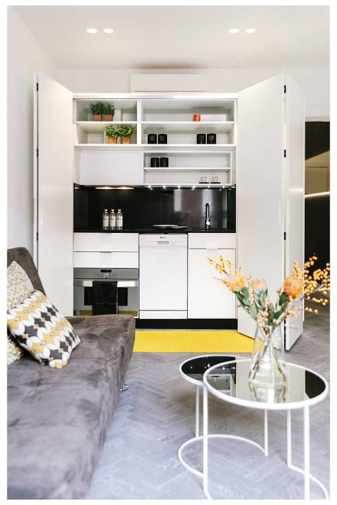 8 kleine Küchen toll in Szene gesetzt! Milling, Industrial and House - bilder in der küche