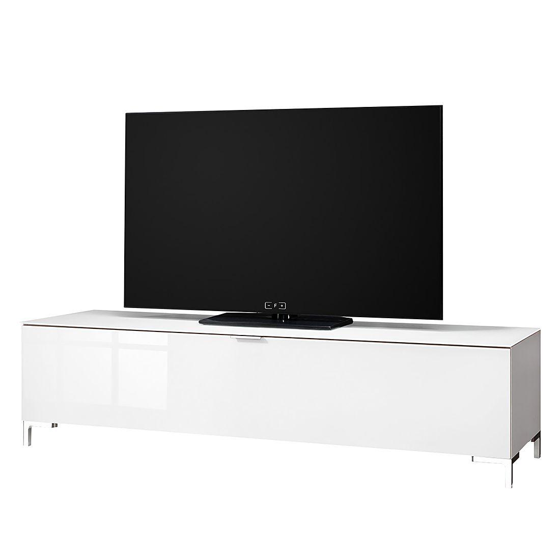 TV Lowboard Cleo II   Weiß/Weißglas, Cs Schmal Jetzt Bestellen Unter: