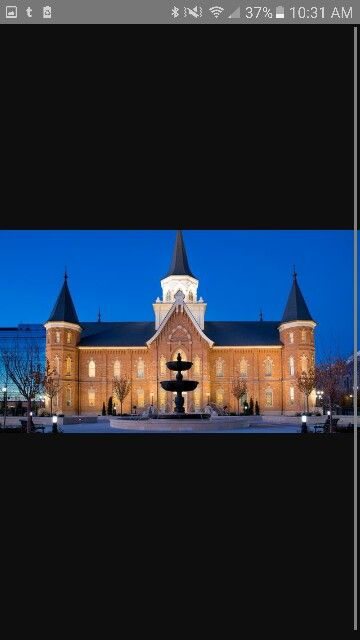 Provo city temple  I helped build this beautiful building