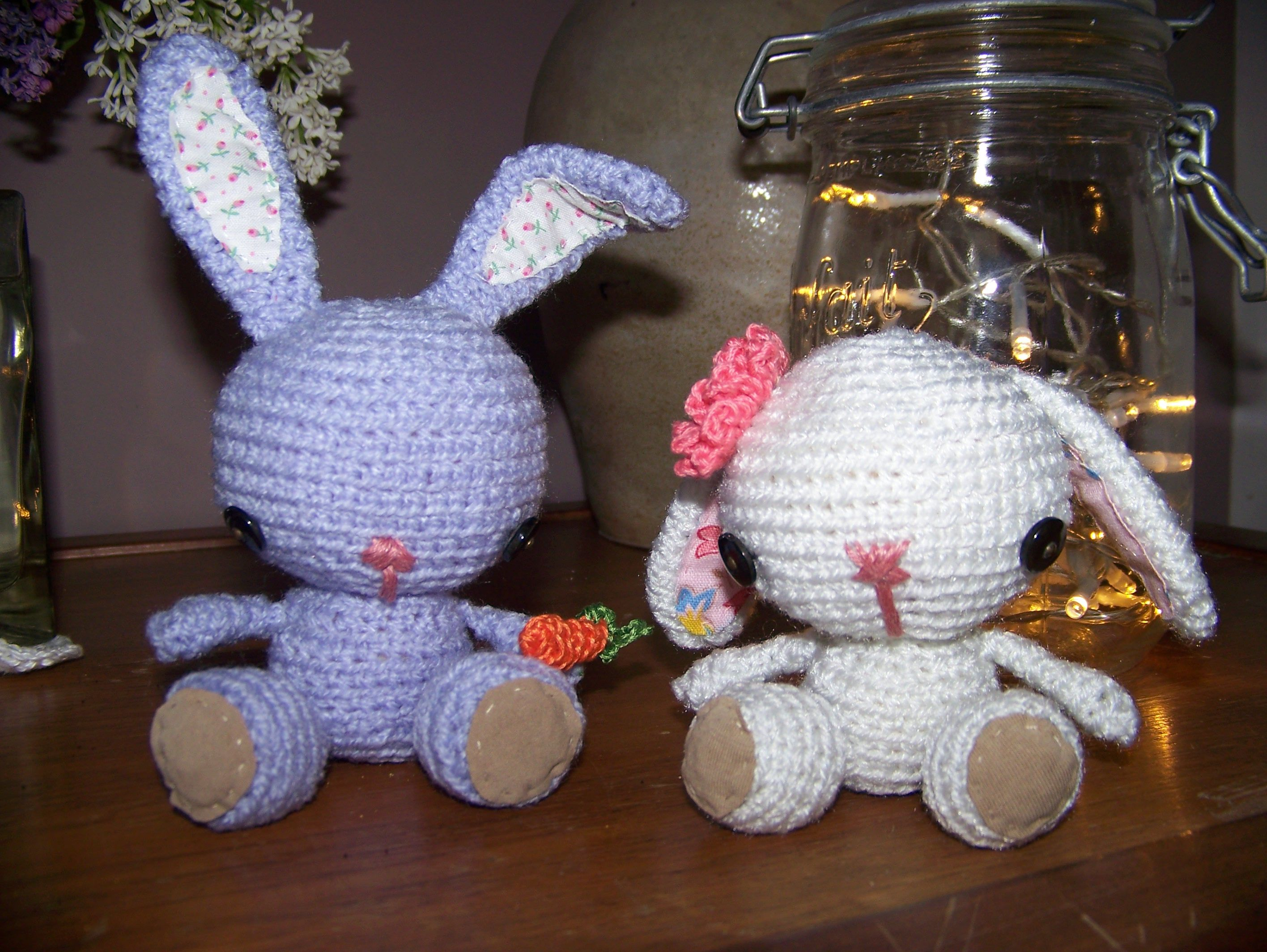 amigurumi lapin - Made by Miloute
