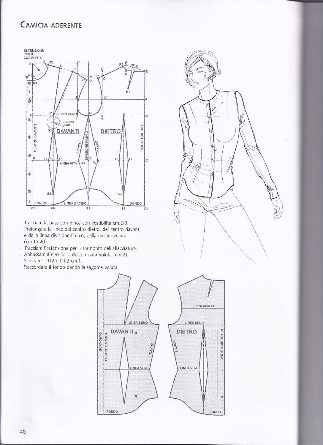 La tecnica dei modelli uomo donna volume 2 | Nähen