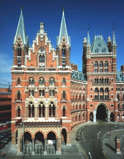 St. Pancras Station, London, now a Renaissance Hotel