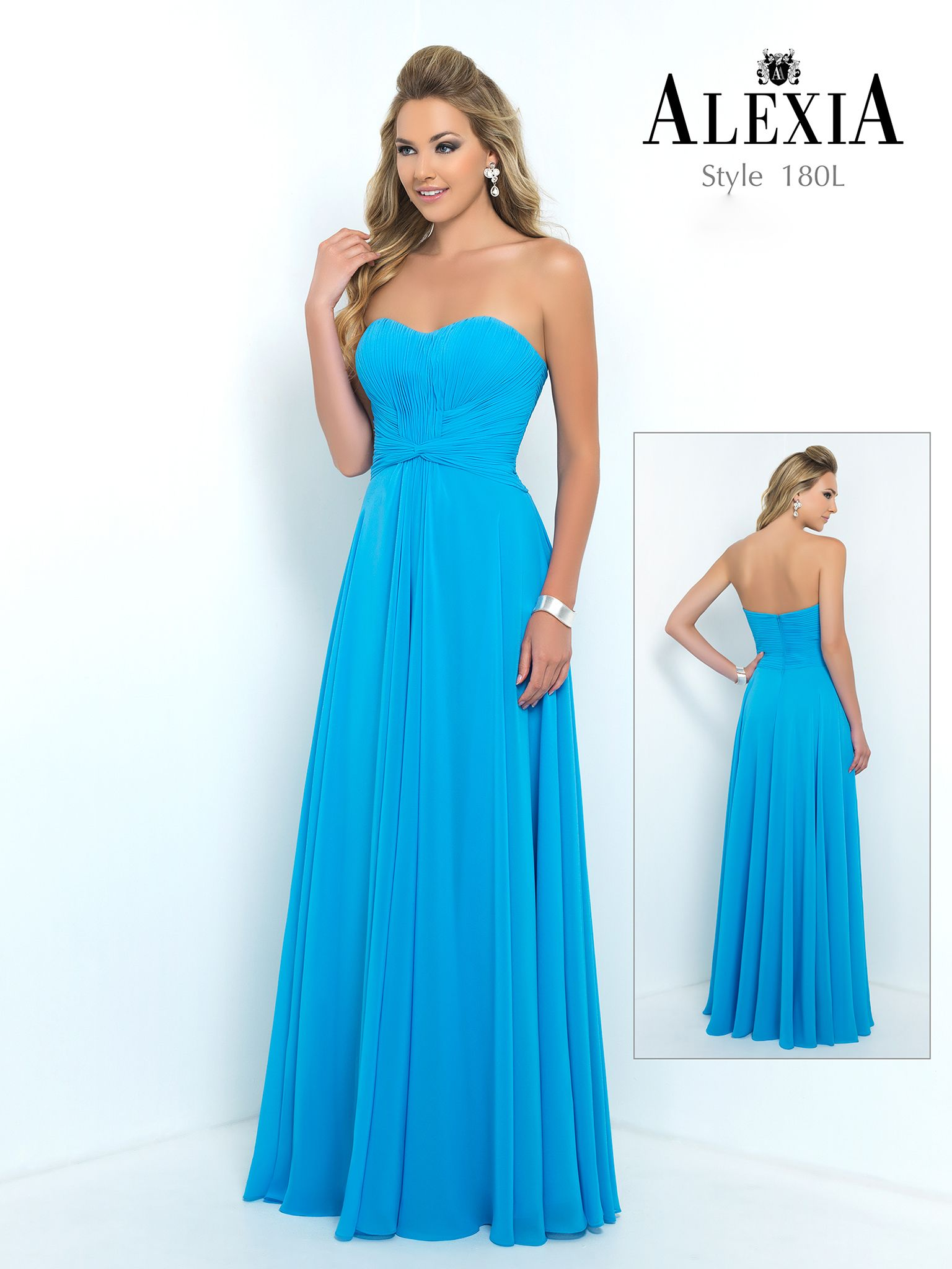 Style 180L in Sapphire. #Style #Bridesmaid #SS15 | dresses ...