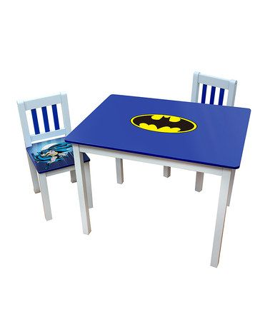 batman childrens table and chairs ergonimic office loving this logo kids on zulily zulilyfinds
