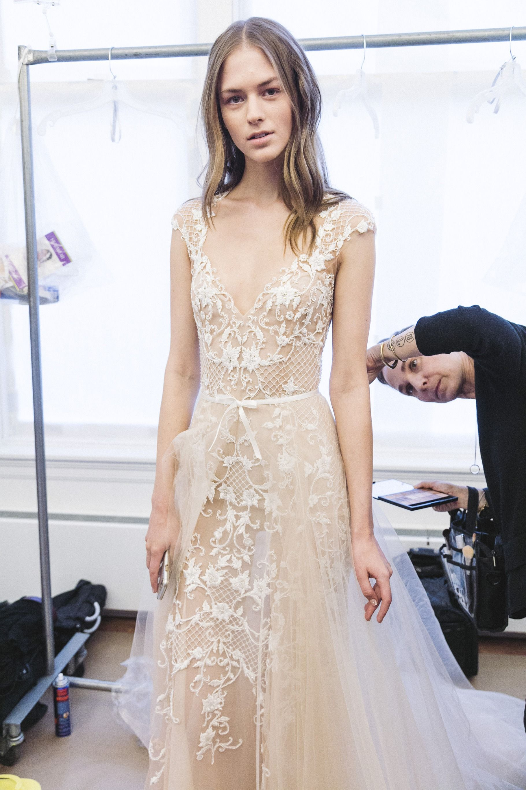 Monique lhuillier bridal lane romantic bride pinterest